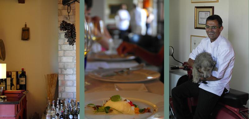 The chef Roberto Petza