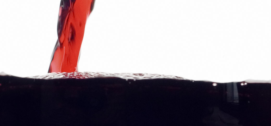 Sardinian red wine